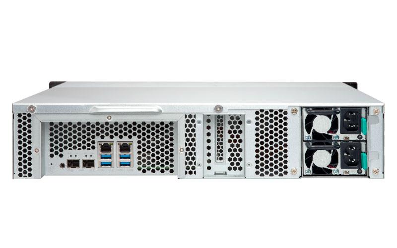 TS-1231XU-RP Qnap - Turbo NAS 12 baias Rackmount Quad Core