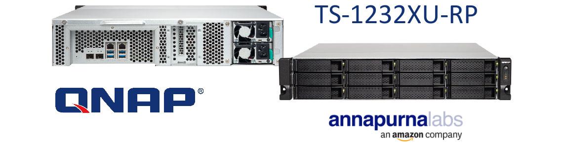 TS-1232XU-RP - Storage NAS RAID com alto desempenho