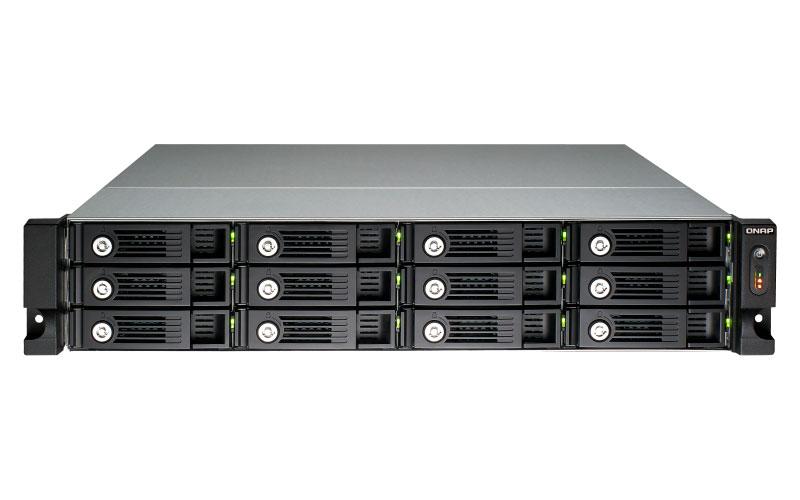 TS-1253U-RP Qnap - Storage 96TB NAS 12 Bay Rackmount