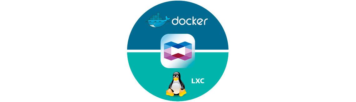 Container Station – Containers LXC e Docker incluídos