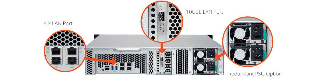 Design de alta confiabilidade - Storage NAS 60TB