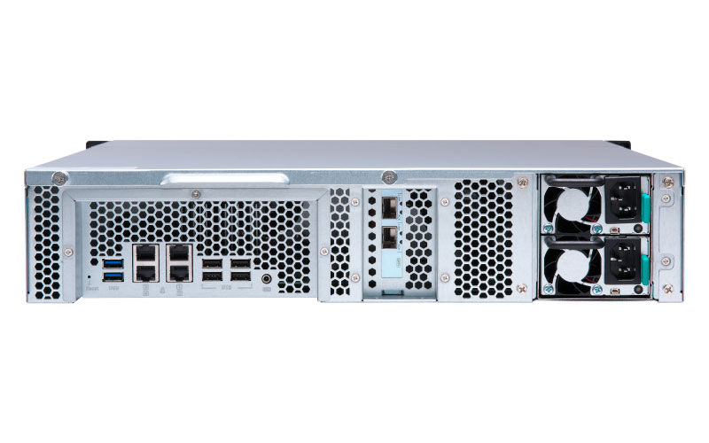 TS-1273U-RP Qnap - Storage Rackmount NAS 12 Baias com PCIe