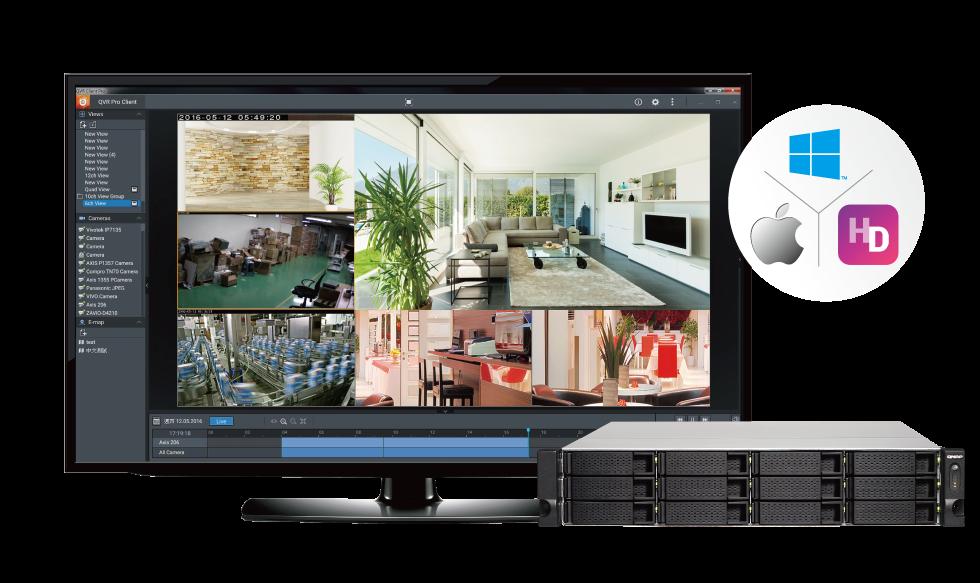 QVR Pro, solução de vigilância completa