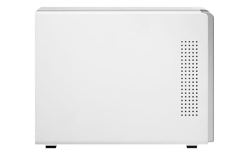 TS-131P - Storage NAS 1 baia hot-swappable para disco SATA até 14TB