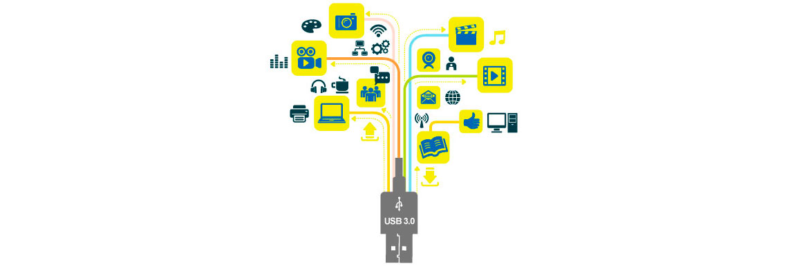 Storage com portas USB 3.2 Gen1