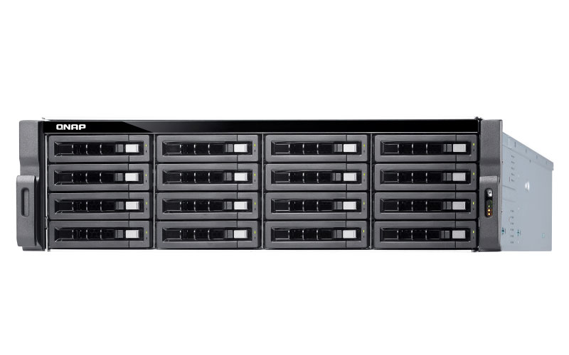 TS-1673U-RP Qnap - Storage NAS Rackmount 16 baias Quad-Core