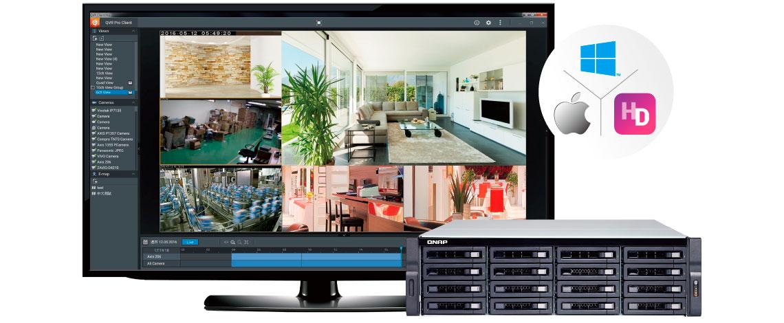 QVR Pro, uma nova solução de vigilância QNAP