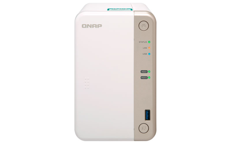 Qnap TS-251B - NAS 24TB 2 baias hot-swappable