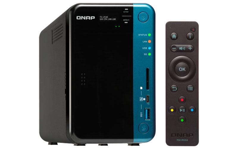 QNAP TS-253B - Storage 28TB 2 baias