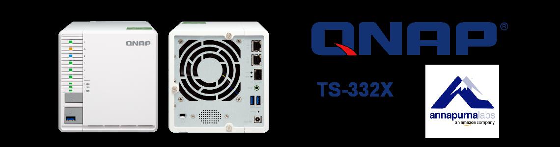 TS-332X - Storage NAS de 3 baias com alto desempenho e armazenamento escalável