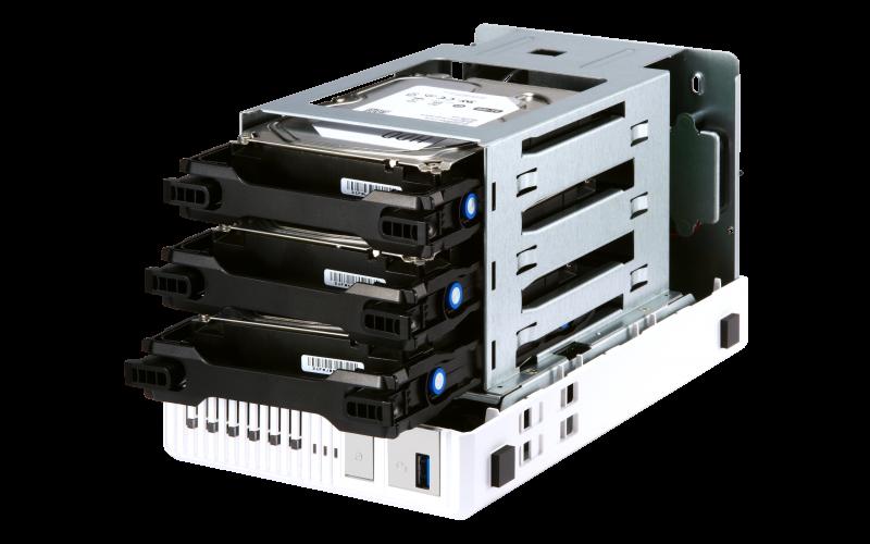 Qnap TS-332X - Storage NAS 3 baias Quad-Core