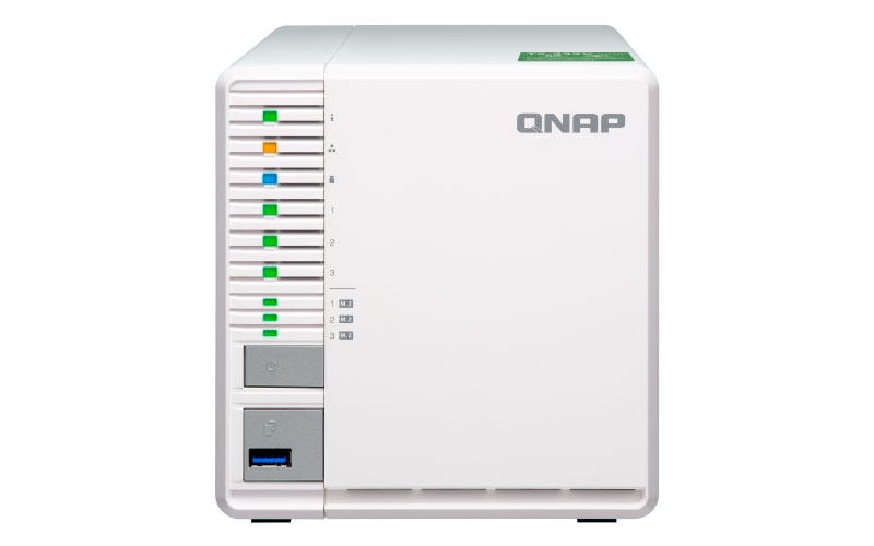 Qnap TS-332X - Storage NAS 3 baias Quad-Core