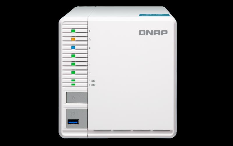 Qnap TS-351 - Storage NAS 3 baias 42TB