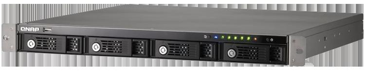 TS-412U Qnap - Storage de Rack 4 Discos TS-412U até 16TB