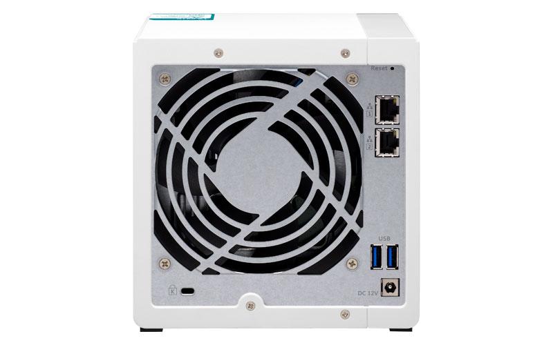 TS-431K Qnap - Storage NAS 4 baias p/ discos SATA