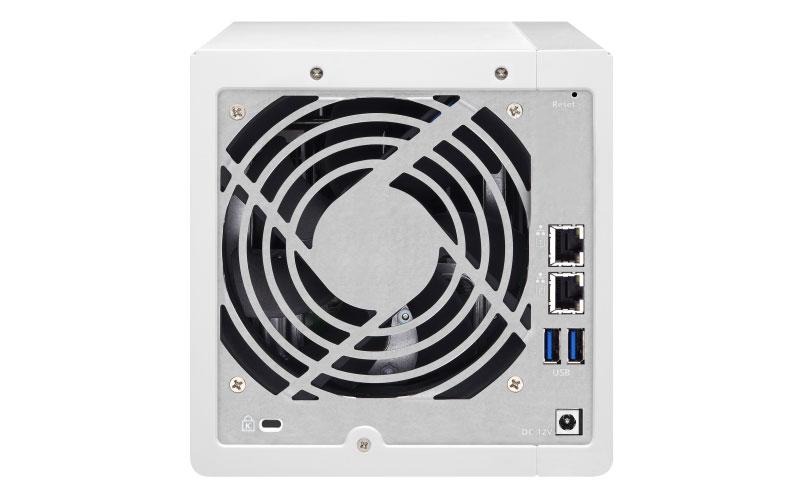 TS-431P2 Qnap - Server NAS 4 baias 48TB
