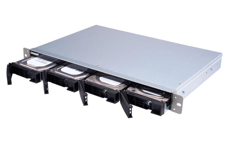 TS-431XeU - Qnap NAS Rackmount 4 baias p/ HDs SATA