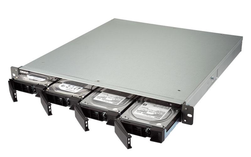 TS-431XU-RP Qnap - Servidor NAS 4 baias para discos SATA