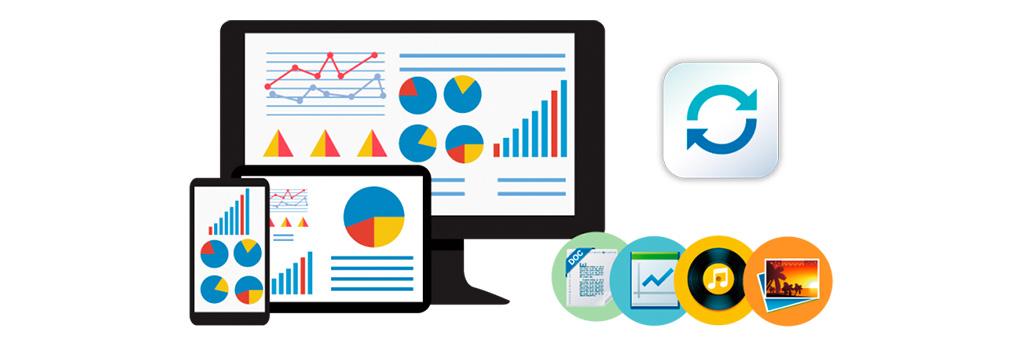 Qsync, sincronize seus dados com diferentes dispositivos