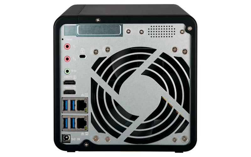 TS-453B - Storage NAS Qnap 56TB com HDMI
