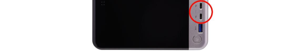 Acesse redes 10GbE com Mac através do NAS Thunderbolt 3
