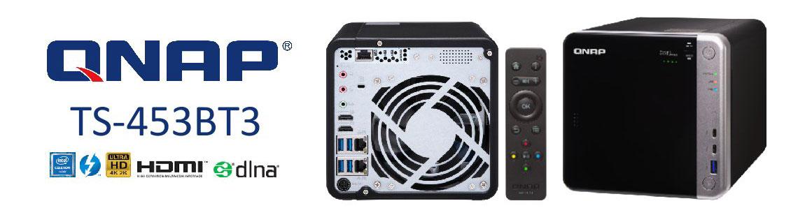 TS-453BT3 - Storage NAS de alta performance com Thunderbolt 3
