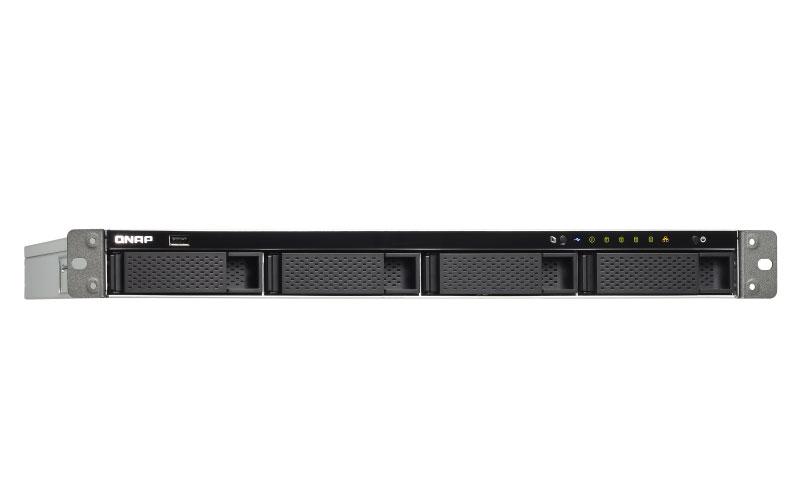 TS-463XU-RP Qnap - Storage NAS Rackmount 4 baias Quad Core com PCIe
