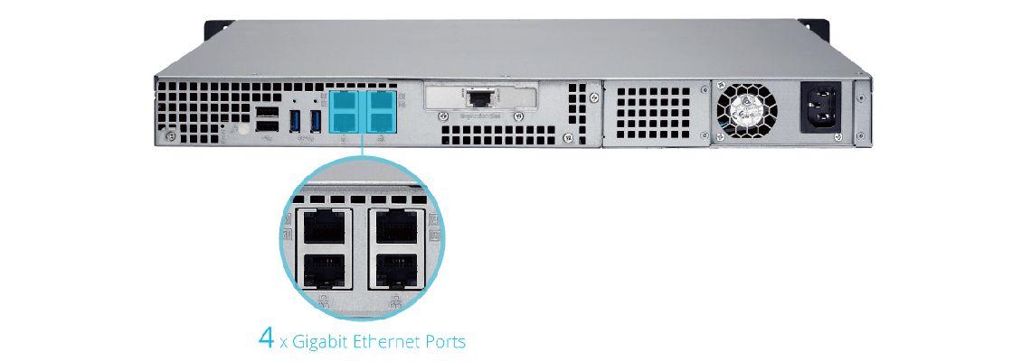 Storage TS-463XU-RP com alta produtividade e segurança