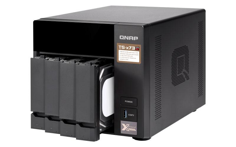 TS-473 Qnap - Storage NAS 4 bay Quad-Core 4GB RAM