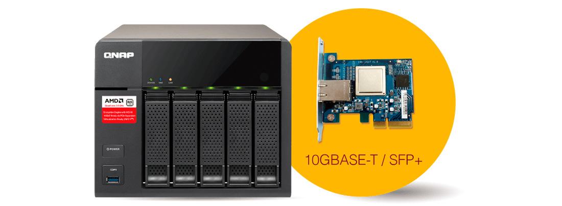 Conectividade 10GbE
