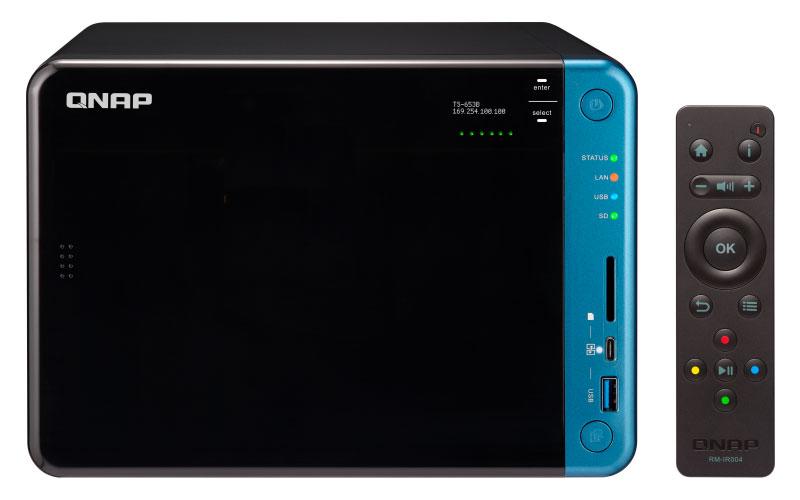 TS-653B Qnap - Storage NAS 6 baias com Virtualização