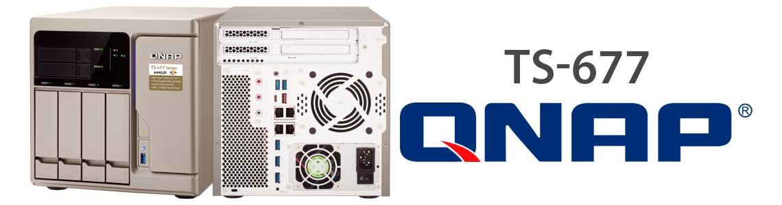 TS-677 NAS com processador AMD Ryzen 6-core e 12 threads