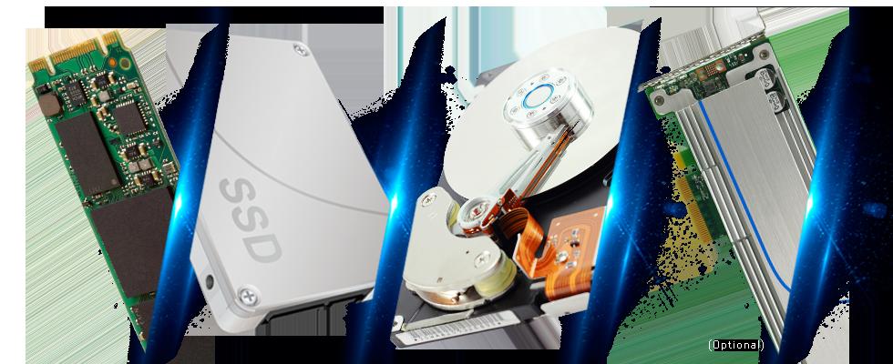 SSD caching e auto tiering para otimização de storage