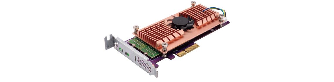 Placa de expansão QM2 para maior velocidade e desempenho