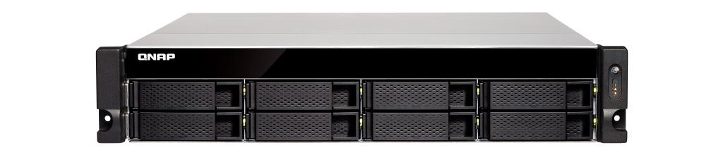 TS-831XU com 2 portas 10Gbe SFP+ integradas