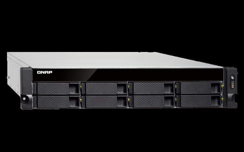 TS-831XU Qnap - Storage NAS com 8 baias SATA