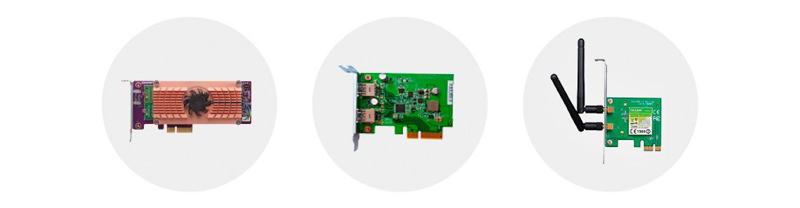 NAS com slot PCI Express - Expansão e flexibilidade de funcionalidades