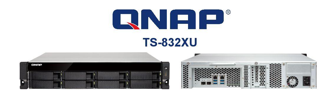 TS-832XU Alto desempenho, capacidade de expansão flexível