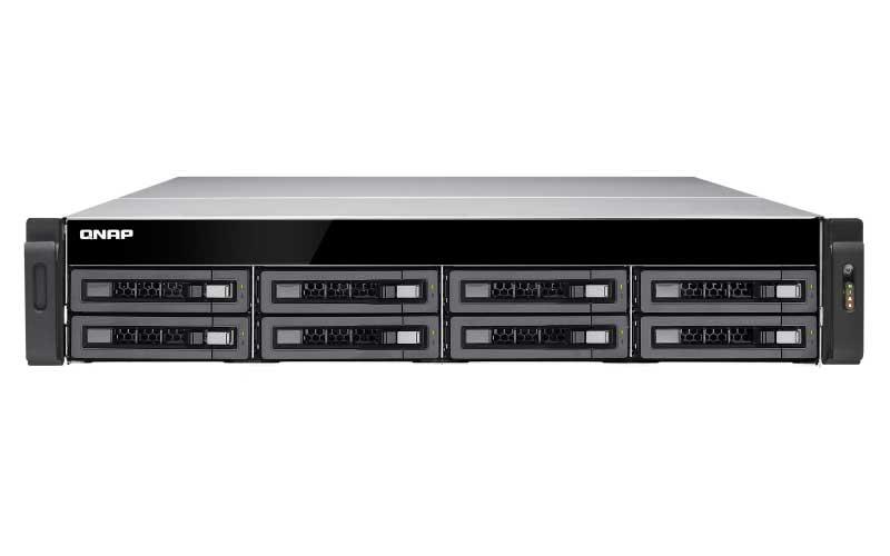 Qnap TS-EC880U R2 - Storage server 8 baias 96TB