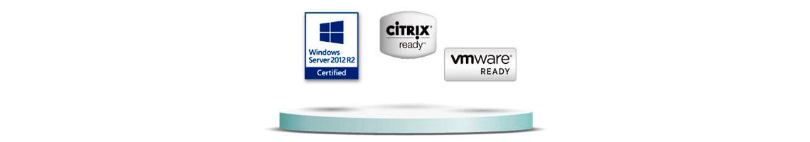 Solução completa para aplicações de virtualização