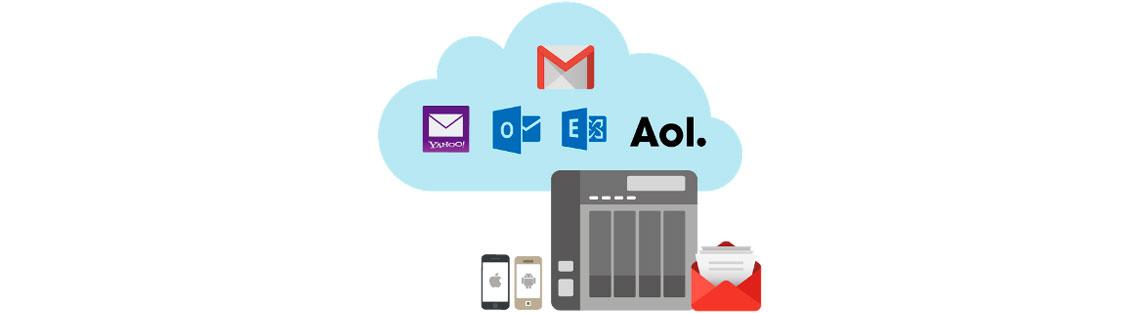Gerenciamento de e-mails e contatos
