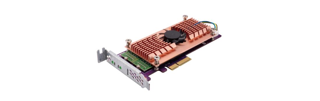 Conectividade 10GbE e maior eficiência com cache SSD