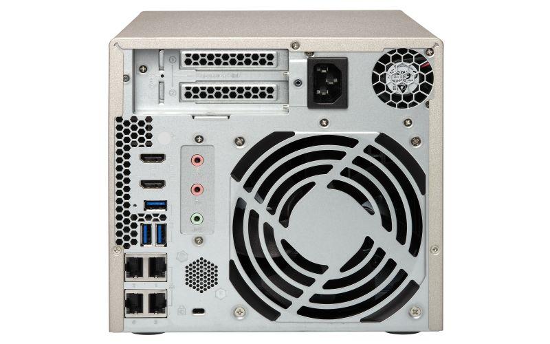 TVS-473e - Storage NAS 4 baias hot-swap até 56TB