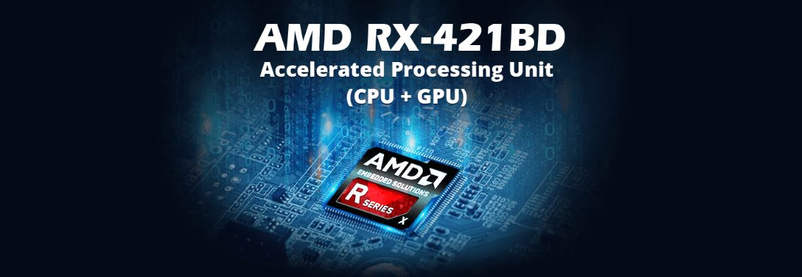 SoC AMD Embedded R-série maior velocidade de processamento