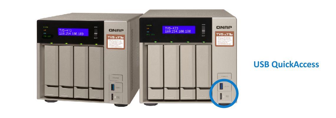 USB QuickAccess, fácil instalação e acesso direto a arquivos
