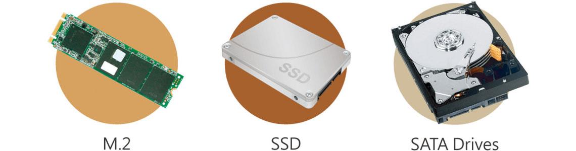 Cache SSD e conexão 10GbE para maior eficiência do armazenamento