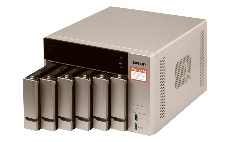 TVS-673e 84TB - NAS Server 6 baias Quad Core