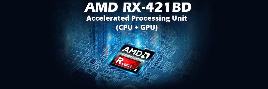 SoC AMD R-Series maior desempenho em processamento
