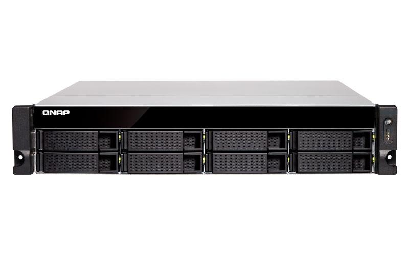 Qnap TVS-872XU-RP - Storage NAS 8 Baias p/ discos SATA