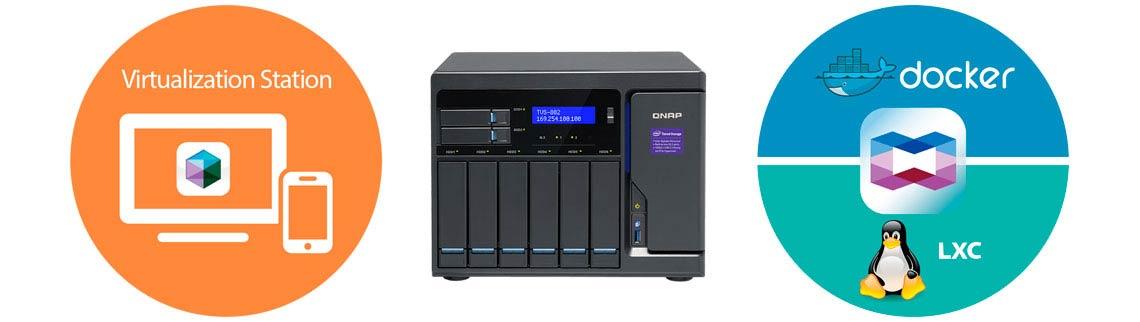 Storage para aplicações com Virtualization e Container